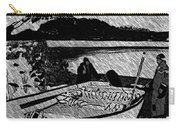 Turr Hunt Sketch Carry-all Pouch by Barbara Griffin