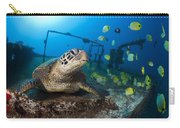 Turtle And Sealife Carry-all Pouch
