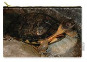 Turtle Time On The Rocks Carry-all Pouch