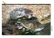 Turtle Two Turtle Love Carry-all Pouch