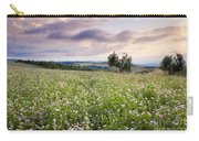 Tuscany Flowers Carry-all Pouch