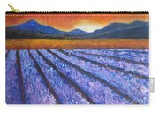 Tuscany Lavender Field Carry-all Pouch