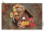 Tweet Little Bird House Carry-all Pouch by Andee Design