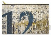 Twelve Left Carry-all Pouch by Carol Leigh