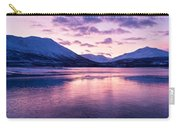 Twilight Above A Fjord In Norway With Beautifully Colors Carry-all Pouch by Ulrich Schade