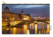 Twilight Over River Seine And Conciergerie Carry-all Pouch