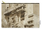 Twilight Zone Tower Of Terror Vertical Hollywood Studios Walt Disney World Prints Vintage Carry-all Pouch