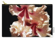 Twin Beauty Hibiscus Carry-all Pouch