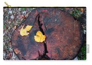 Twin Fallen Leaves Carry-all Pouch
