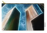 Twin Towers Carry-all Pouch by Paul Ward