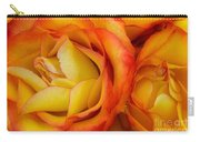 Twin Yellow Roses Carry-all Pouch