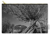 Twisted Beauty - Bw Carry-all Pouch