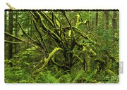 Twisted Rain Forest Carry-all Pouch