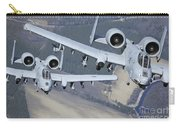 Two A-10c Thunderbolt II Aircraft Fly Carry-all Pouch