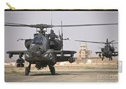 Two Ah-64 Apache Helicopters Return Carry-all Pouch