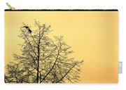 Two Birds In A Tree Carry-all Pouch