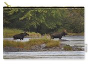 Two Bull Moose In Maine Carry-all Pouch