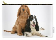 Two Cocker Spaniels Carry-all Pouch