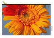 Two Color Gerbera Daisy Carry-all Pouch
