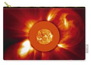 Two Coronal Mass Ejections Carry-all Pouch by Solar & Heliospheric Observatory consortium (ESA & NASA)