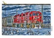 Two Cp Rail Engines Hdr Carry-all Pouch