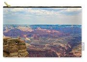 Two Crows Watch Over The Canyon Carry-all Pouch