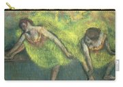 Two Dancers Relaxing Carry-all Pouch