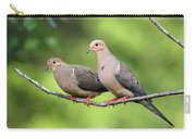 Two Doves Carry-all Pouch