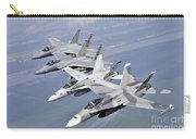 Two Fa-18 Hornets And Two F-15 Strike Carry-all Pouch