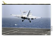 Two Fa-18c Hornet Strike Fighters Carry-all Pouch