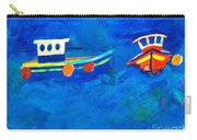 Two Fishing Boats At Sea Carry-all Pouch