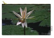 Two Frogs Sharing A Lotus Carry-all Pouch