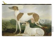 Two Greyhounds In A Landscape Carry-all Pouch