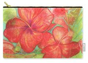 Two Hibiscus Blossoms Carry-all Pouch