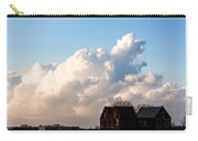 Two Houses One Cloud Carry-all Pouch by Semmick Photo