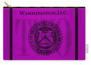 Two In Purple Carry-all Pouch