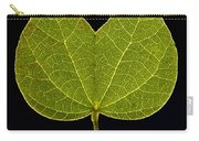 Two Lobed Leaf Carry-all Pouch