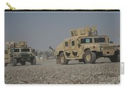 Two M1114 Humvee Vehicles At Camp Taji Carry-all Pouch