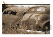 Two Old Rear Ends-sepia Carry-all Pouch