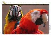 Two Parrots Closeup Carry-all Pouch
