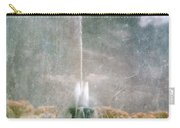 Two People By Buckingham Fountain Carry-all Pouch