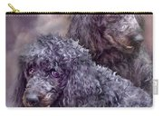 Two Poodles Carry-all Pouch