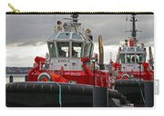 Two Red Tugs Carry-all Pouch