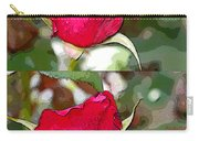 Two Rose Buds Carry-all Pouch