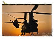 Two Royal Air Force Ch-47 Chinooks Take Carry-all Pouch