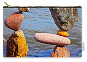 Two Stacks Of Balanced Rocks Carry-all Pouch
