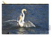 Two Swans Playing Carry-all Pouch