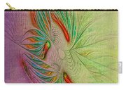 Two Tone Frac Abstract Carry-all Pouch
