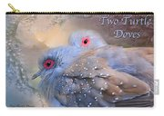 Two Turtle Doves Card Carry-all Pouch