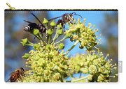 Two Wasps And A Bee Carry-all Pouch